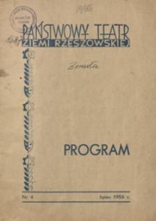 Program. 1956, nr 4 (lipiec)