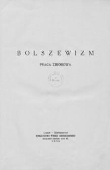 Bolszewizm : praca zbiorowa