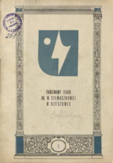 Balladyna : tragedia w 5 aktach Juliusza Słowackiego