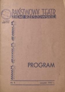 Program. 1957, nr 5 (sierpień)