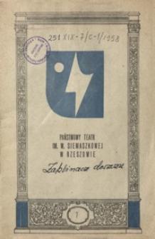 Zaklinacz deszczu : komedia poetycka w trzech aktach Richarda N. Nasha