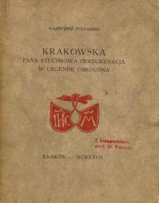 Krakowska pana Stuchsowa peregrynacja w legendę obrócona