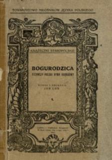 Bogurodzica : pierwszy polski hymn narodowy