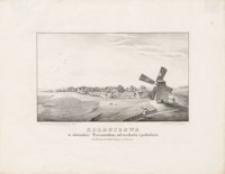 Kolbuszowa w obwodzie Tarnowskim, od wschodu i południa
