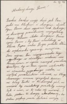 [List Gustawa Kaczkowskiego do Józefa Wiśniowskiego, 18.08.1903]