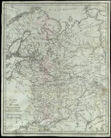 Carte de la Russie Européene