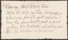 [List Lucjana Rydla do Józefa Wiśniowskiego, 09.05.1906]