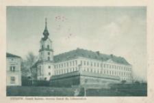 Rzeszów. Gmach Sądowy, dawniej Zamek Ks. Lubomirskich [Pocztówka]