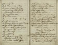 [Rękopis 15 pieśni i utworów poetyckich o tematyce patriotycznej i narodowej]