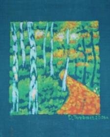 Droga leśna [Obraz]