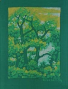 Las wiosną [Obraz]
