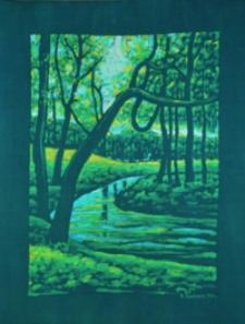 Park w Zarzeczu [Obraz]