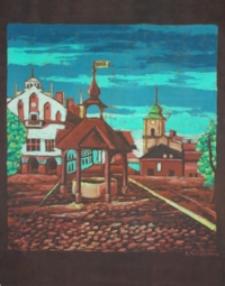 Studnia na rzeszowskim rynku dawniej [Obraz]