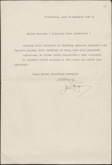 [List Jana Reguły do Józefa Wiśniowskiego, 13.09.1938, nr 2]