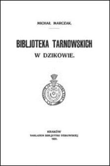 Bibljoteka Tarnowskich w Dzikowie