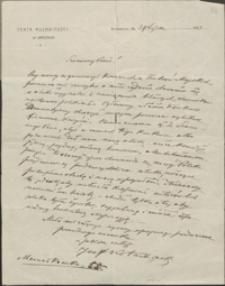 [List Józefa Kotarbińskiego do Józefa Wiśniowskiego, 24.07.1923]