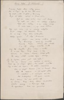 [List nieznanego nadawcy do rąk Józefa Wiśniowskiego, 28.05.1906]