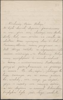 [List Stefana Żeromskiego do Józefa Wiśniowskiego, 30.09.1901]