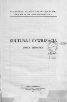 Kultura i cywilizacja : praca zbiorowa. [T. 2]