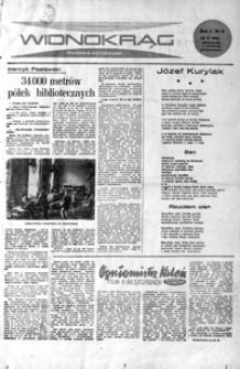 Widnokrąg : tygodnik kulturalny. 1961, nr 3 (15 października)