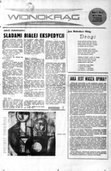 Widnokrąg : tygodnik kulturalny. 1961, nr 4 (22 października)