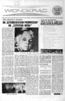 Widnokrąg : tygodnik kulturalny. 1961, nr 6 (5 listopada)