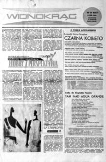 Widnokrąg : tygodnik kulturalny. 1961, nr 10 (3 grudnia)