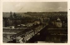 [Przemyśl. Most kolejowy - widok na Zasanie] [Fotografia]