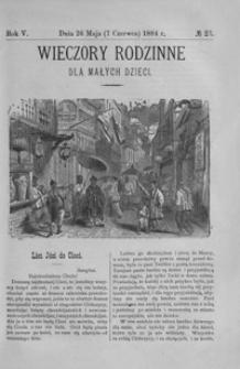 Wieczory Rodzinne dla Małych Dzieci. 1884, R. 5, nr 23 (26 maja (7 czerwca))