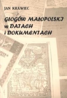 Głogów Małopolski w datach i dokumentach
