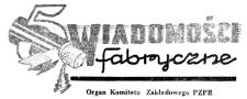 Wiadomości Fabryczne : organ Komitetu Zakładowego Polskiej Zjednoczonej Partii Robotniczej. 1957, R. 6, nr 4 (1-15 marca)