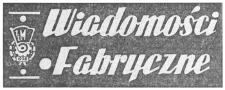 Wiadomości Fabryczne : organ Komitetu Zakładowego PZPR Wytwórni Sprzętu Komunikacyjnego im. J. Tkaczowa w Rzeszowie. 1961, R 10, nr 30-31 (20-30 września)