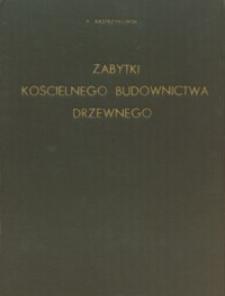 Zabytki kościelnego budownictwa drzewnego w diecezji sandomierskiej