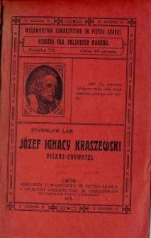 Józef Ignacy Kraszewski : pisarz i obywatel
