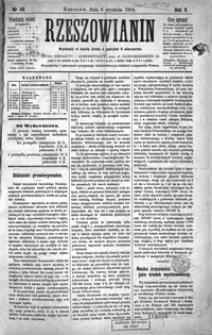 Rzeszowianin. 1904, R. 2, nr 46-49 (styczeń)