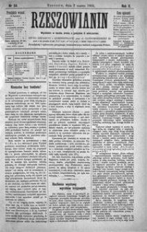 Rzeszowianin. 1904, R. 2, nr 54 (marzec)