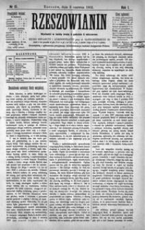 Rzeszowianin. 1903, R. 1, nr 15-18 (czerwiec)