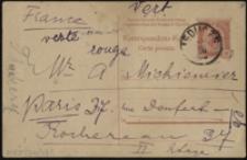 [Karta korespondencyjna Marii Konopnickiej do Adama St. Mickiewicza, 28.10.?]