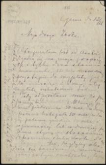 [List Marii Konopnickiej do córki Zofii, 13.09.1892]