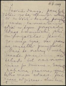 [List Marii Konopnickiej do córki Zofii, 15.04.1899]