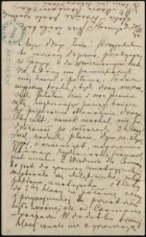 [List Marii Konopnickiej do córki Zofii, 20.12.1894]