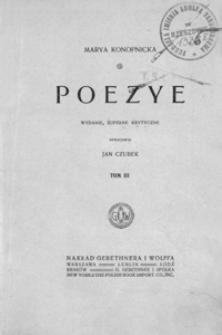 Poezye. T. 3