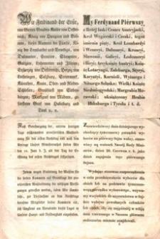 Tymczasowy porządek wyborów odnoszący się do konstytucyi z dnia 25. kwietnia 1848