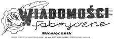 Wiadomości Fabryczne : organ Komitetu Fabrycznego PZPR, ZF ZMP, Rady Zakładowej i Dyrekcji WSK Rzeszów. 1952, R. 1, nr 6 (30 sierpnia)