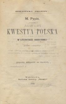 Kwestya polska w literaturze rosyjskiej