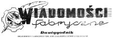 Wiadomości Fabryczne : organ Komitetu Fabrycznego PZPR, ZF ZMP, Rady Zakładowej i Dyrekcji WSK Rzeszów. 1953, R. 2, nr 5 (28 kwietnia)
