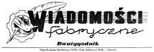 Wiadomości Fabryczne : organ Komitetu Zakładowego PZPR i Rady Zakładowej WSK - Rzeszów. 1954, R. 3, nr 4 (9 marca)
