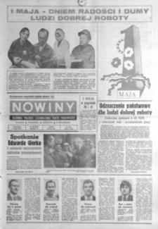 Nowiny : dziennik Polskiej Zjednoczonej Partii Robotniczej. 1978, nr 99-100, 102, 104-105, 107-123 (maj)