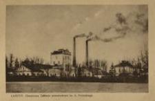 Łańcut : Chemiczne Zakłady przemysłowe hr. A. Potockiego [Widokówka]