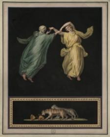 Dwie Bachantki tańczące
